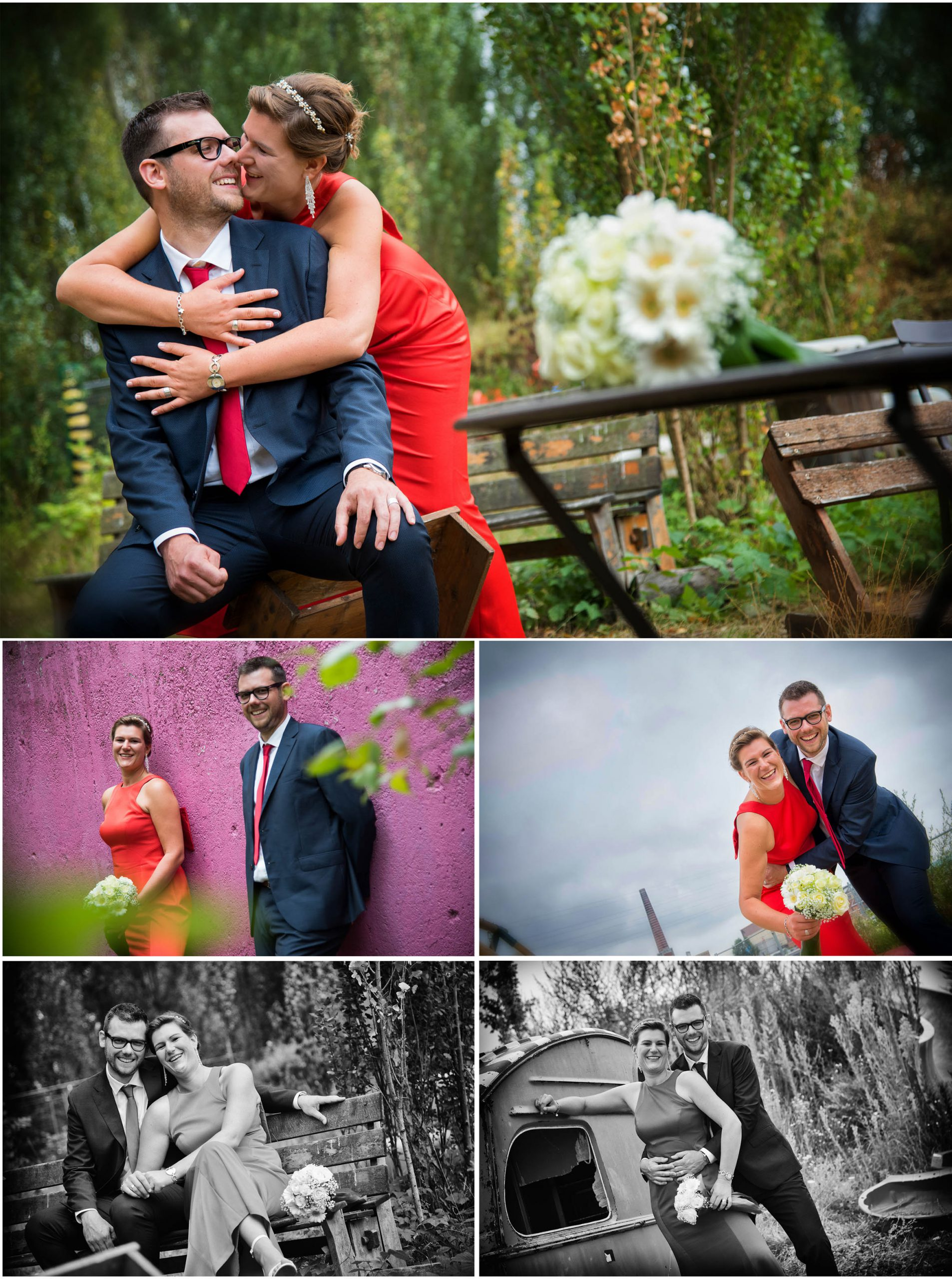 huwelijk fotoshoot