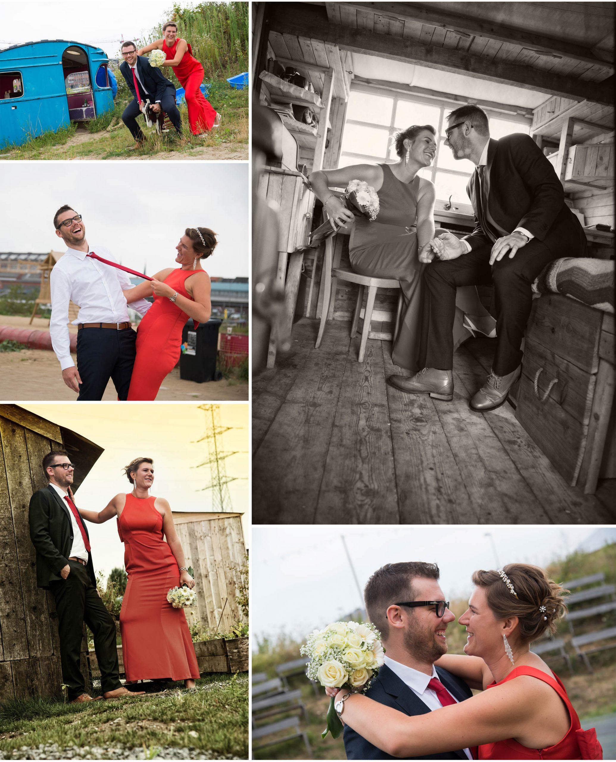 huwelijk spontane foto's