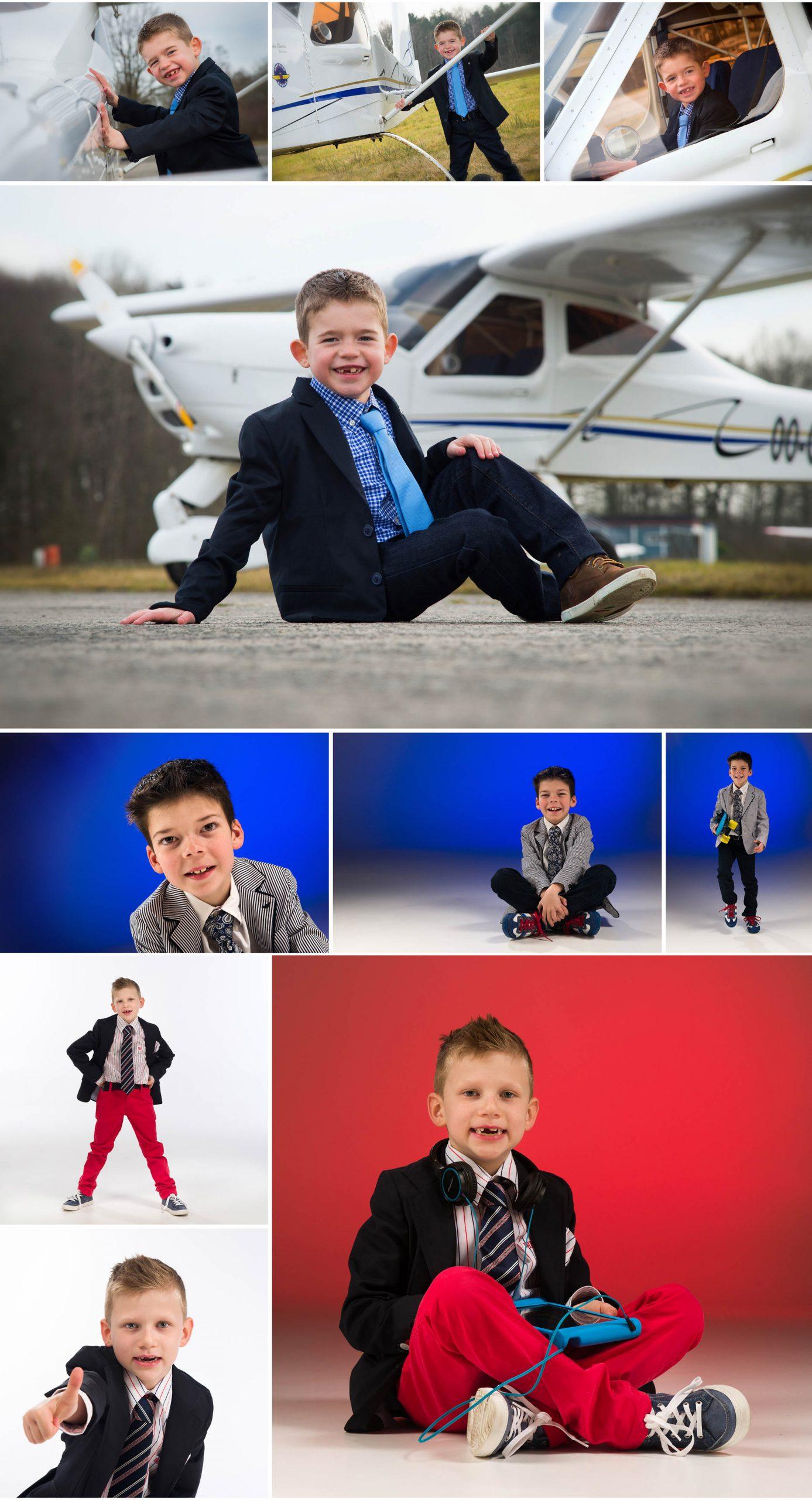 communie met vliegtuig