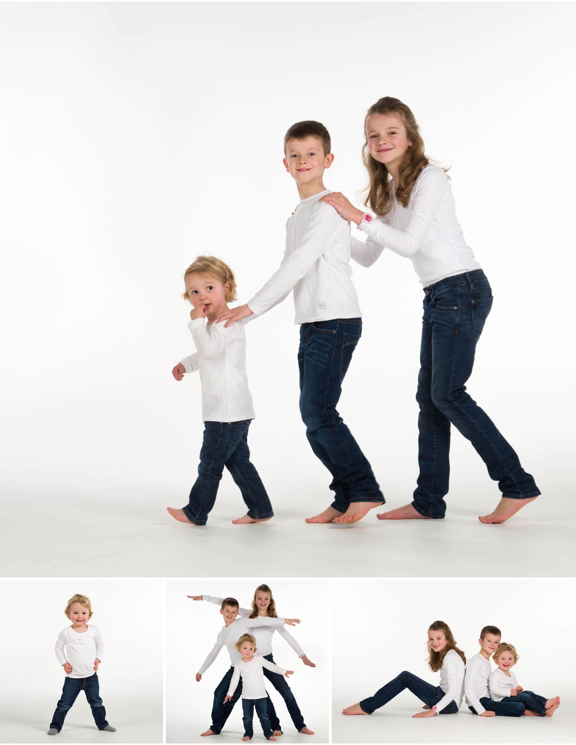 foto treintje met broer en zus