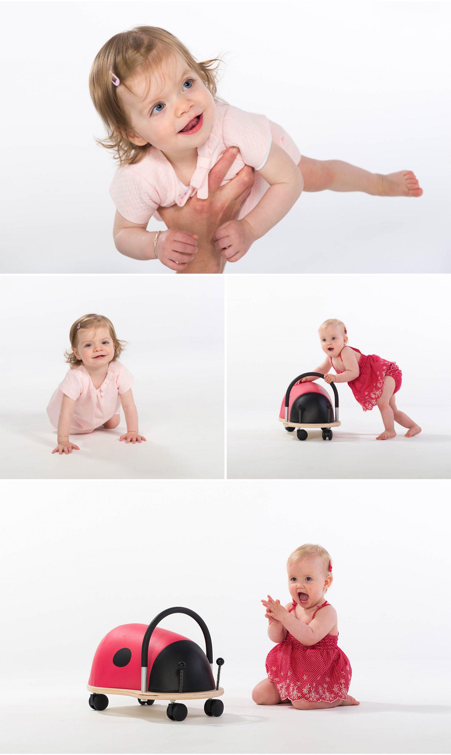 kinderen op foto
