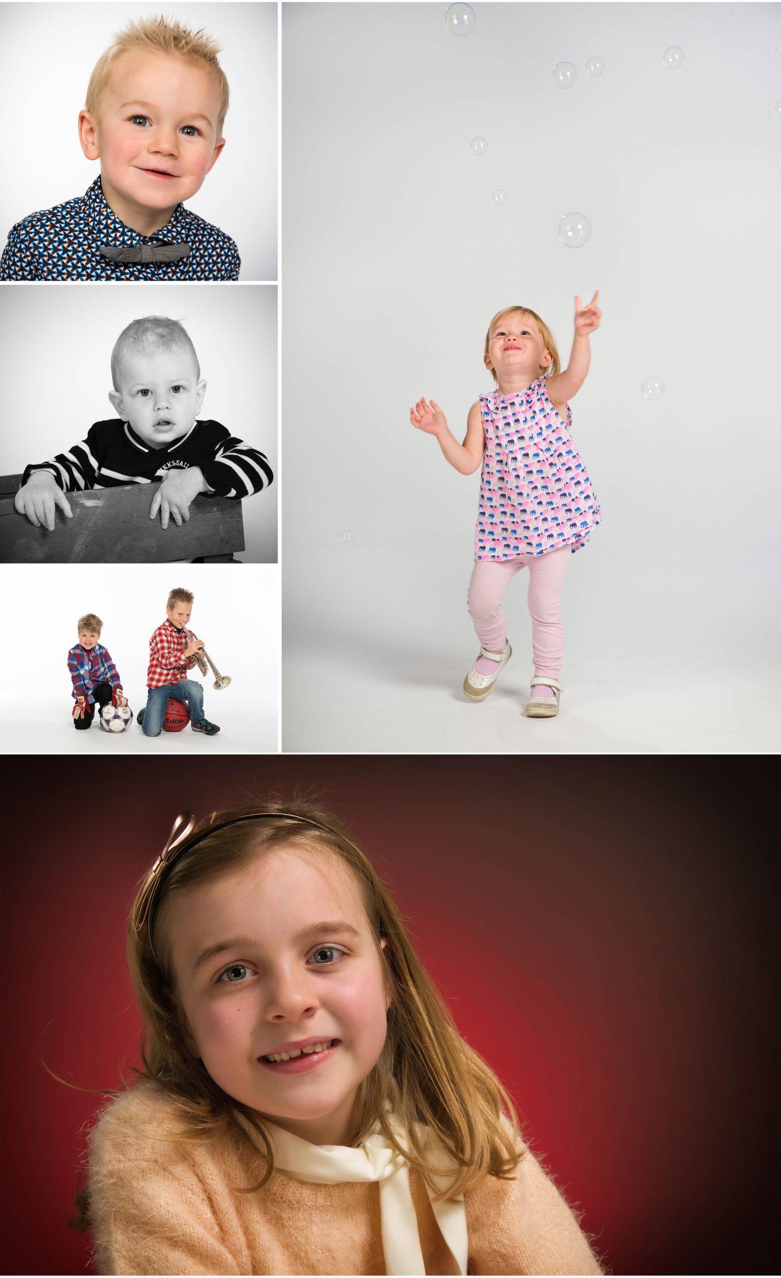 kids op de foto