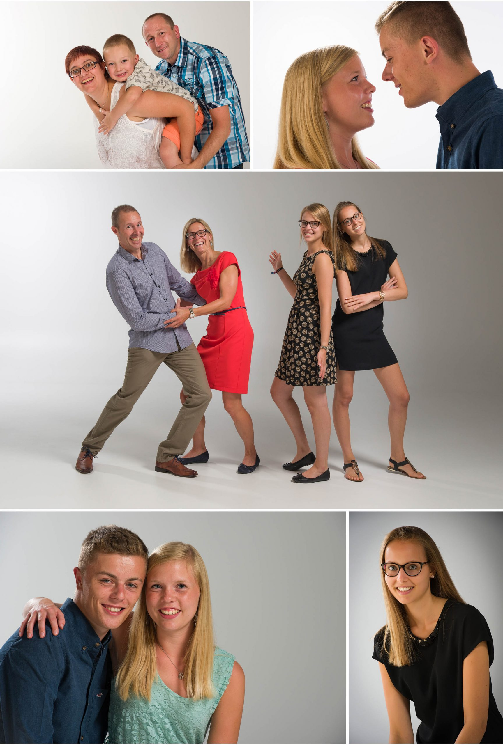familie op de foto