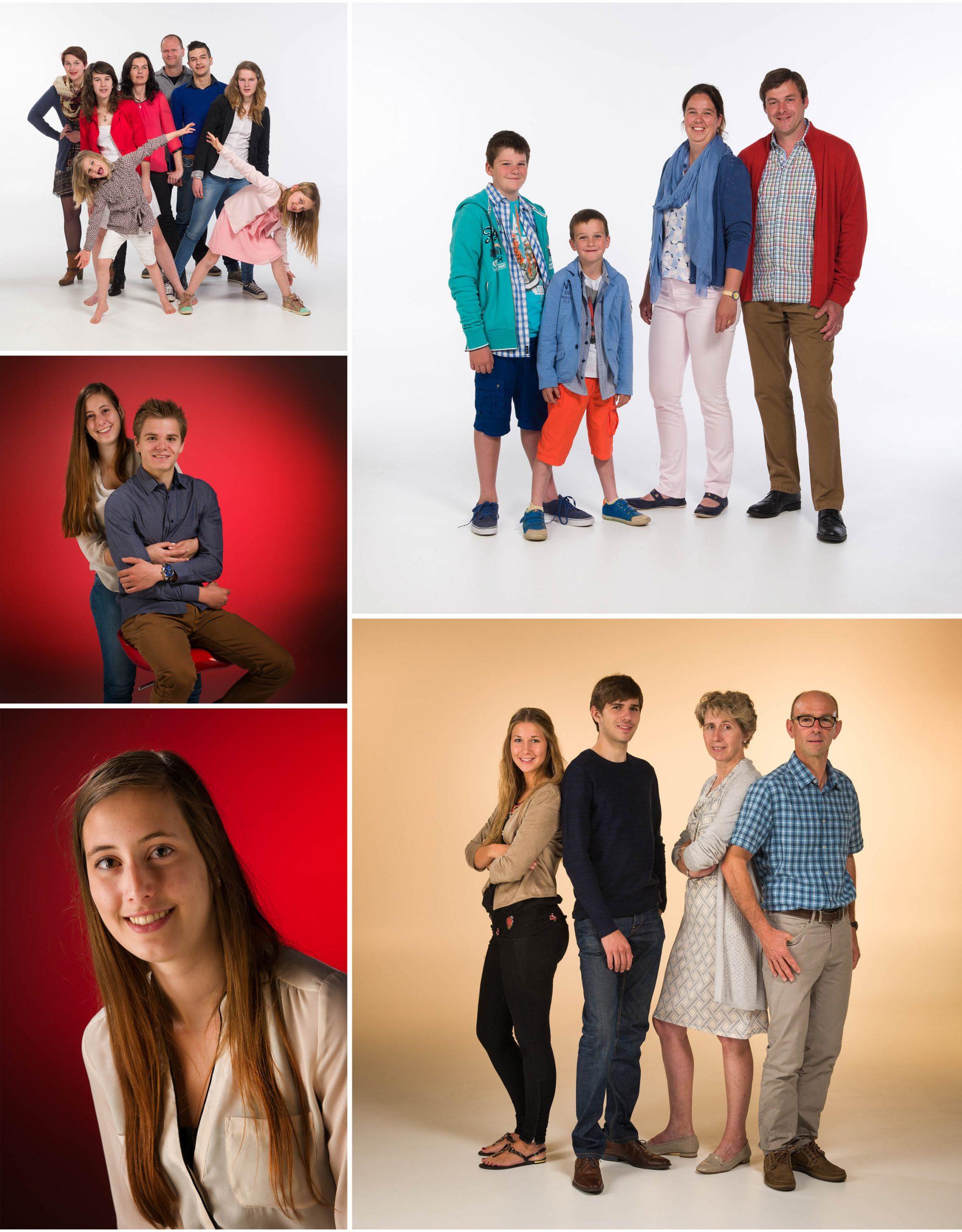 ons gezin op de foto