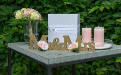 Envelopjes veilig opbergen op je bruiloft