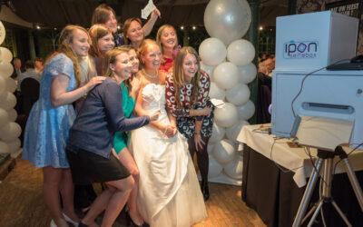 Photobooth op je bruiloft