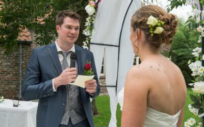 Persoonlijke trouwbelofte schrijven