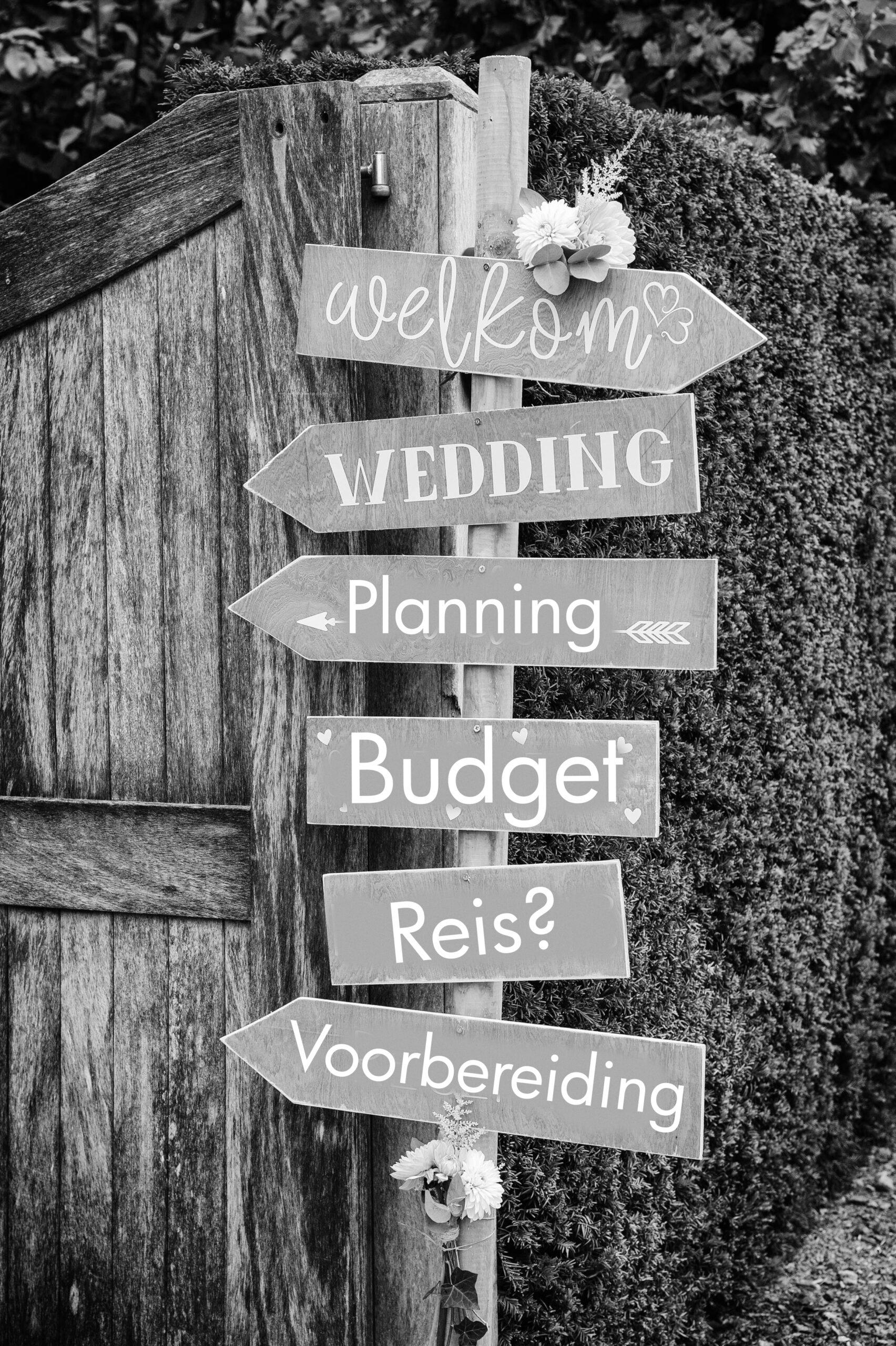 budget huwelijk